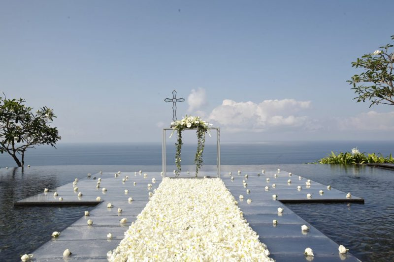 BVLGARI Water Wedding寶格麗水上婚禮