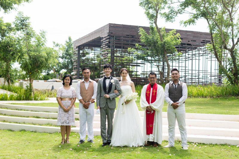 Alila Villa Cliff Edge Cabana Chapel阿里拉懸崖鳥巢婚禮