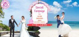 Watabe Wedding 最新九月預訂優惠