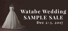 Watabe Wedding 婚紗Sample Dress Sale