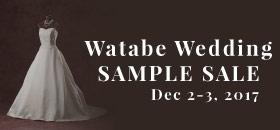 Watabe Wedding 婚紗Sample Dress Sale