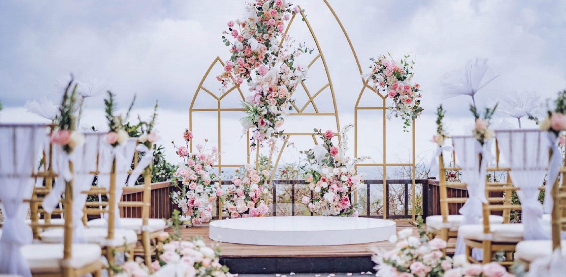 The Shanti Residence Ocean Sky Villa Wedding
