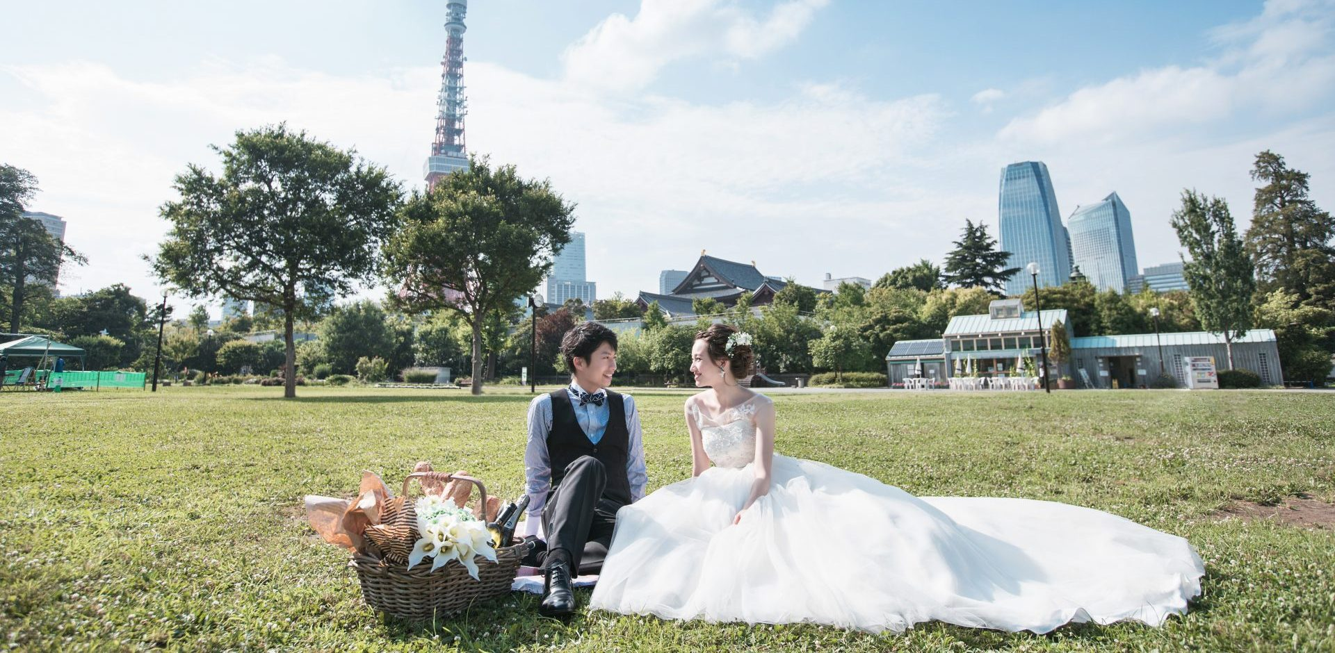 3個外景拍攝 – 洋式禮服
